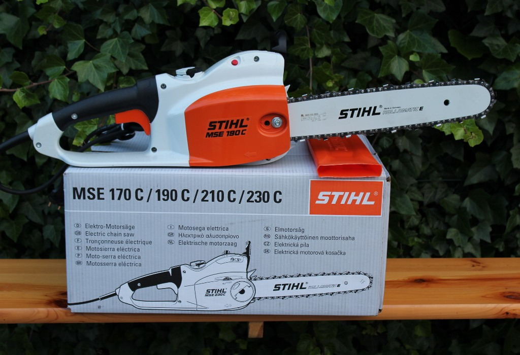stihl mse 190 c q elektro motors ge 35cm schnittl nge kettens ge elektros ge. Black Bedroom Furniture Sets. Home Design Ideas