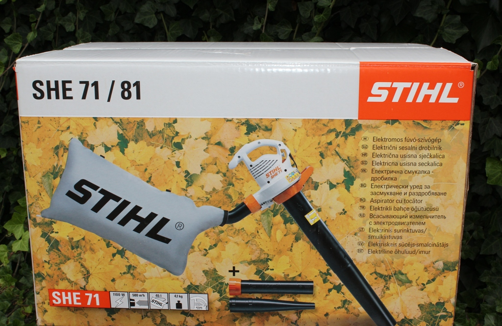 stihl she 71 elektro saugh cksler laubbl ser laubsauger elektro blasger t ebay. Black Bedroom Furniture Sets. Home Design Ideas